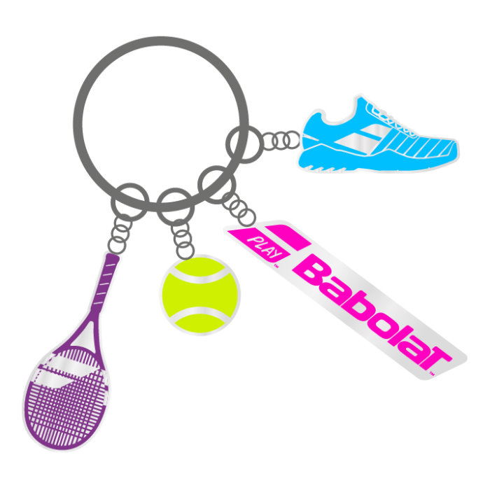 Babolat Charms Key Ring