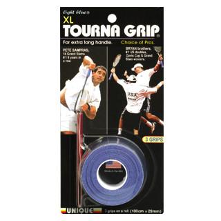Unique Tourna Grip XL Overgrips 3pc Light Blue