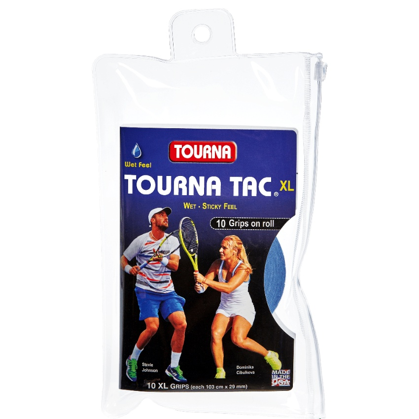 Unique Tourna Tac XL Overgrip 10pc Blue