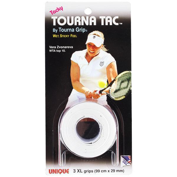 Unique Tourna Tac XL Overgrips 3pc White