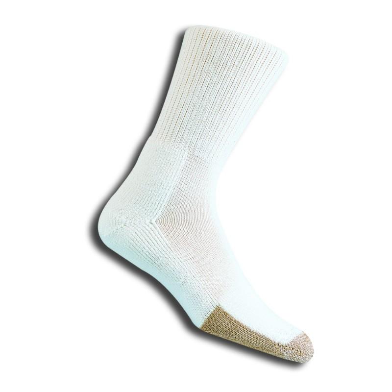 Thorlos TX Unisex Crew White Tennis Socks