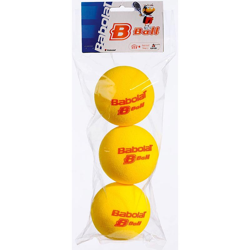 Babolat Red Foam Ball 3-ball Pack