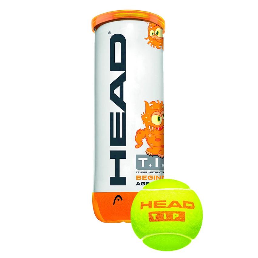 Head T.I.P. Orange Ball 3-ball Can