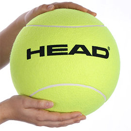 Head Giant Inflatable Ball