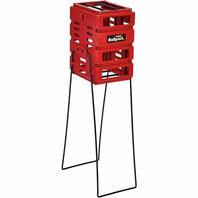 Unique Ballport Mini 36-Ball Basket Red