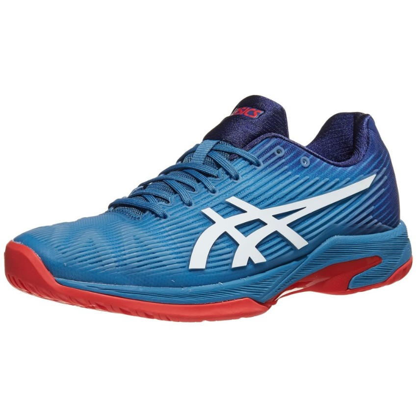 Asics Solution Speed FF Blue/Red Men's Shoes