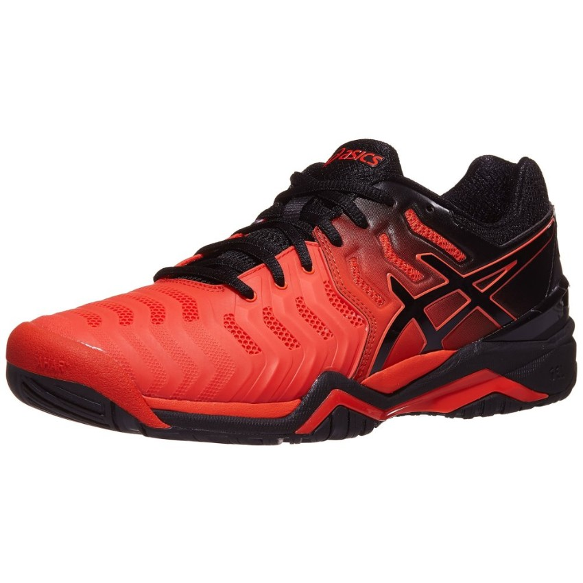Asics Gel-Resolution 7 Red/Black Men's Shoes