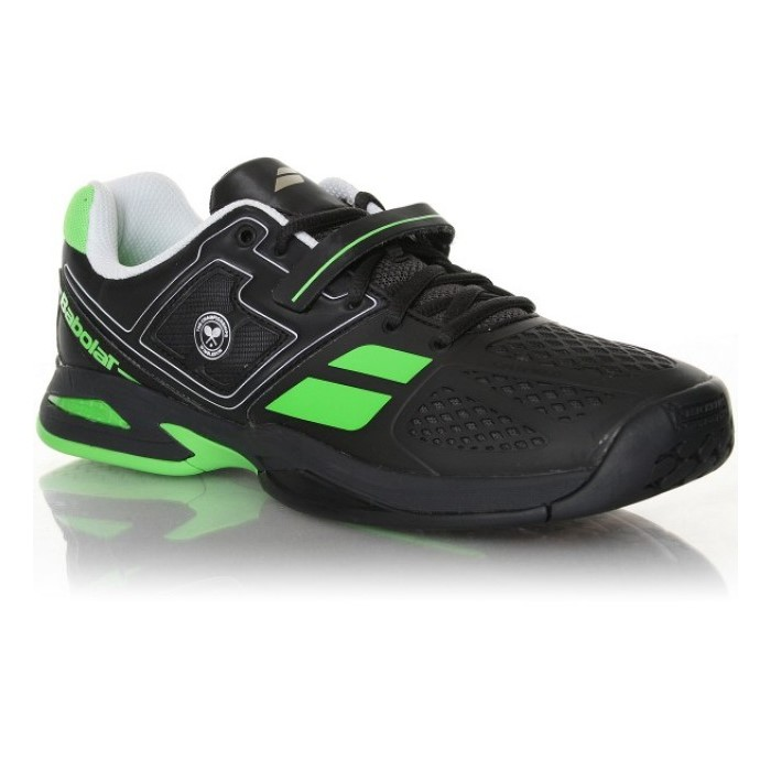 Babolat Propulse BPM All Court Wimbledon Black/Green Men's Shoes