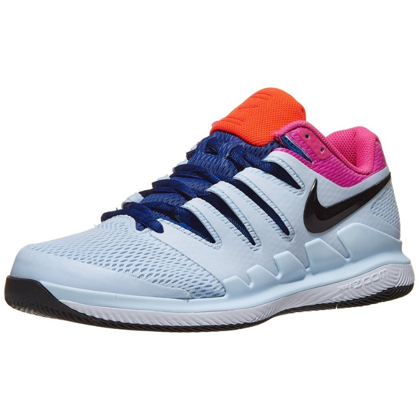 Nike Air Zoom Vapor X Half Blue/Fuchsia Men's Shoe