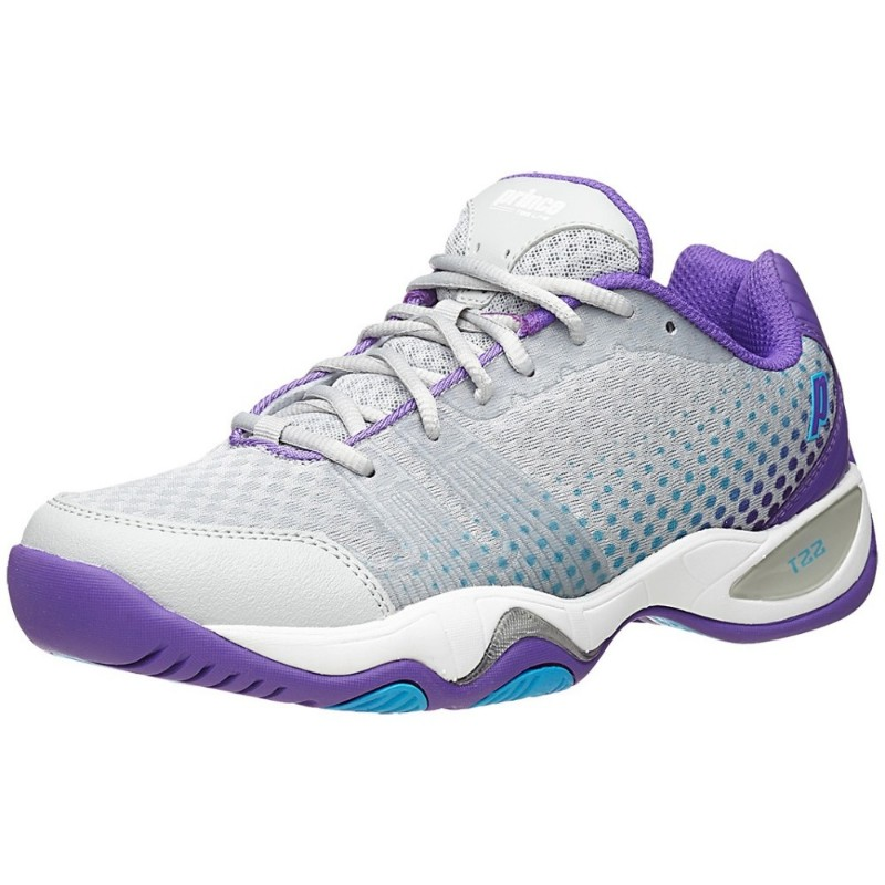 Prince T22 Lite Grey/Purple/Blue Women's Shoes