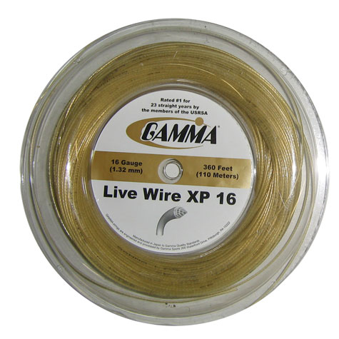 Gamma Live Wire XP 16 Reel String