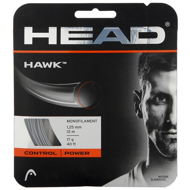 Head Hawk 17 Grey String