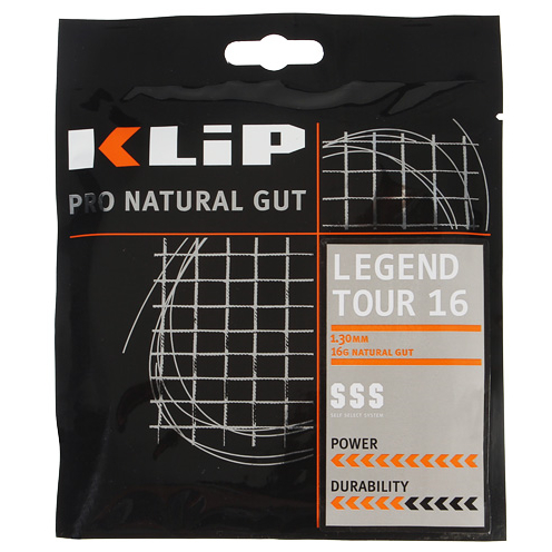 Klip Legend Tour Natural Gut 16 Black String