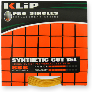 Klip Synthetic Gut 15L String