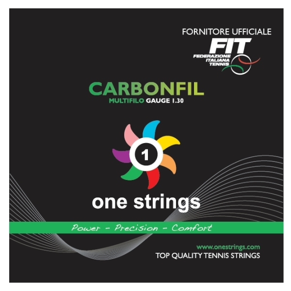 One Strings CarbonFil 1.30 White String