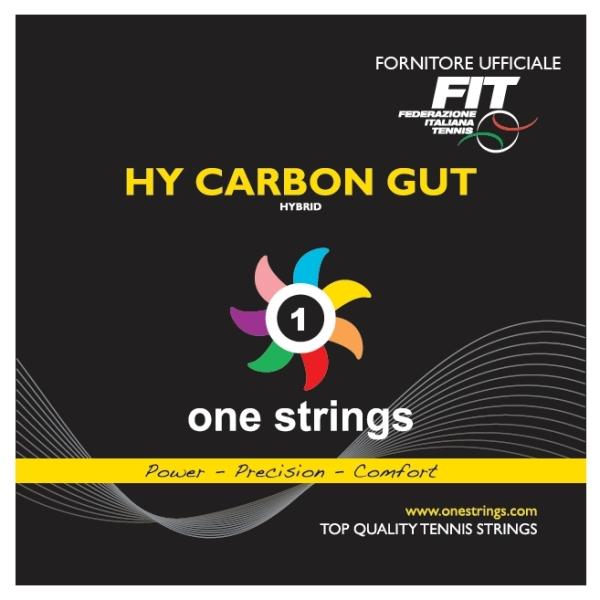 One Strings Hybrid Carbon Gut 1.30/1.22 String