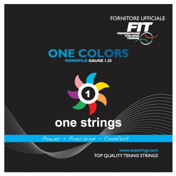 One Strings One Colors 1.25 Crystal Blue String