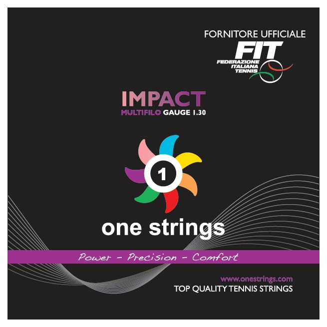 One Strings Impact 1.30 White String