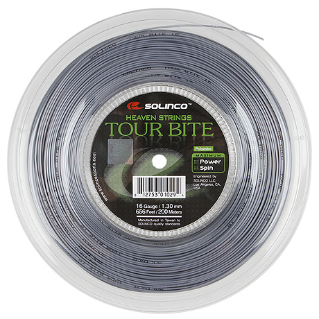 Solinco Tour Bite 16L Reel 200m String