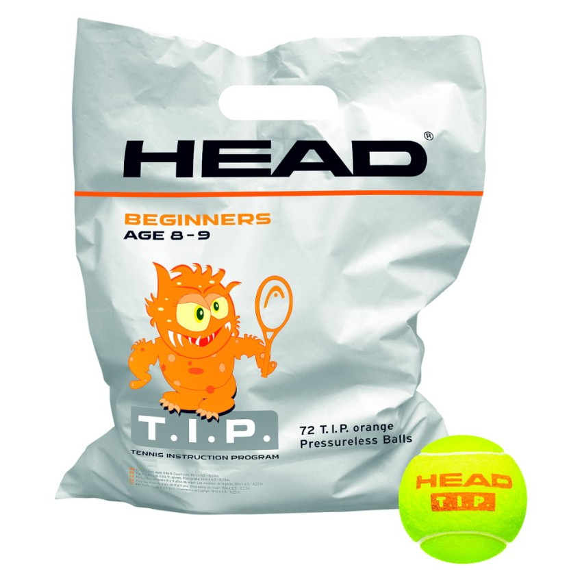 Head T.I.P. Orange Ball 72-ball Bag
