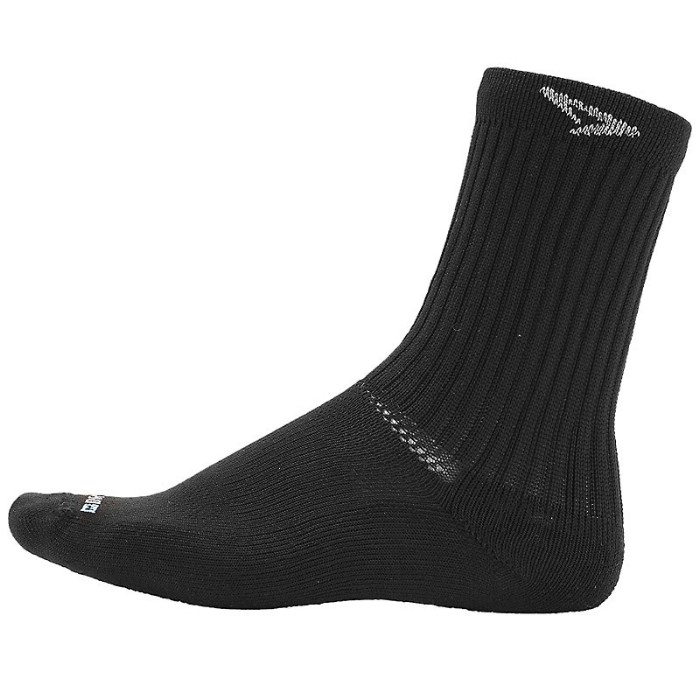 Drymax Tennis Crew Black Socks