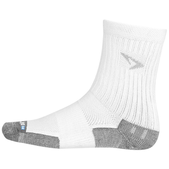Drymax Tennis Crew White Socks
