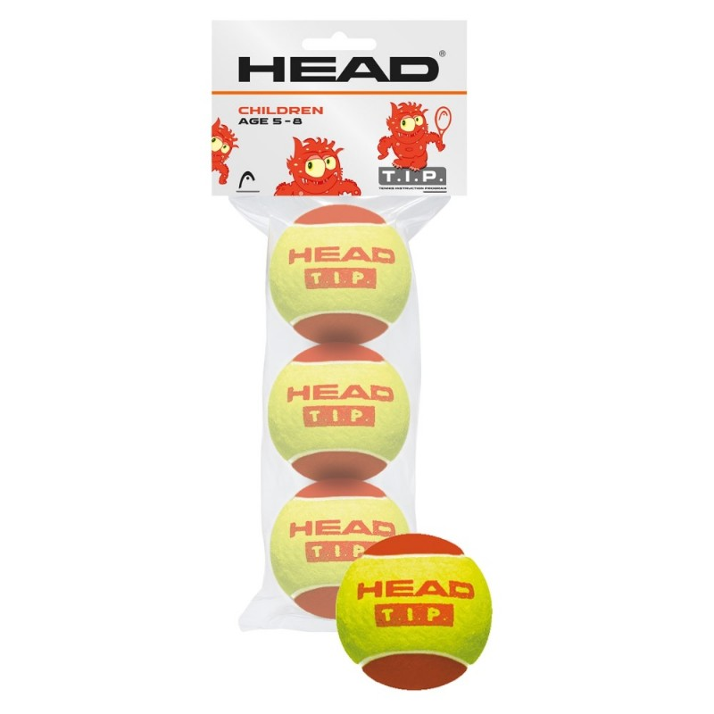 Head T.I.P Red Ball 3-ball Pack