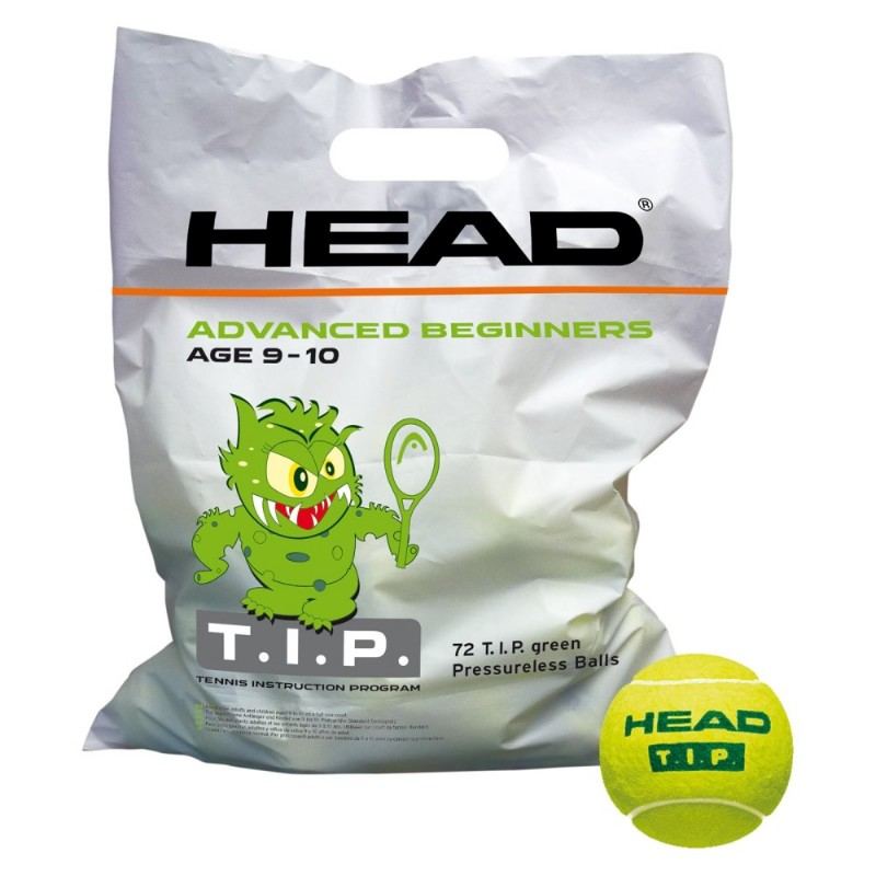 Head T.I.P. Green Ball 72-ball Bag