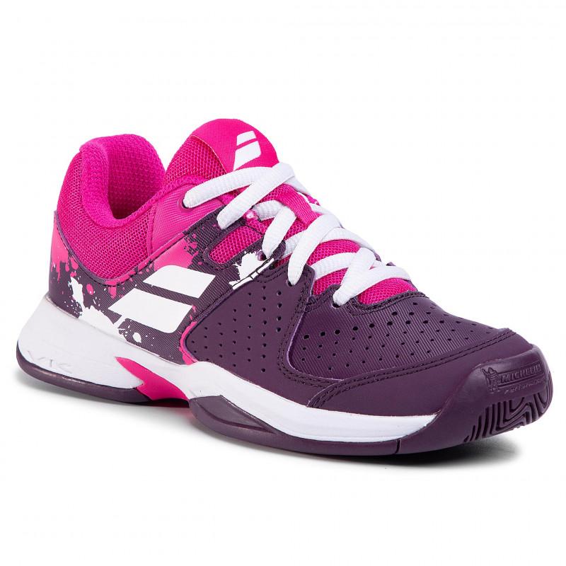 Babolat Pulsion AC Grape/Royale Junior Shoes