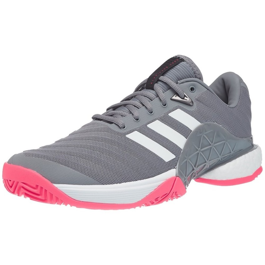 Adidas Barricade BOOST Grey/Scarl Men's Shoes