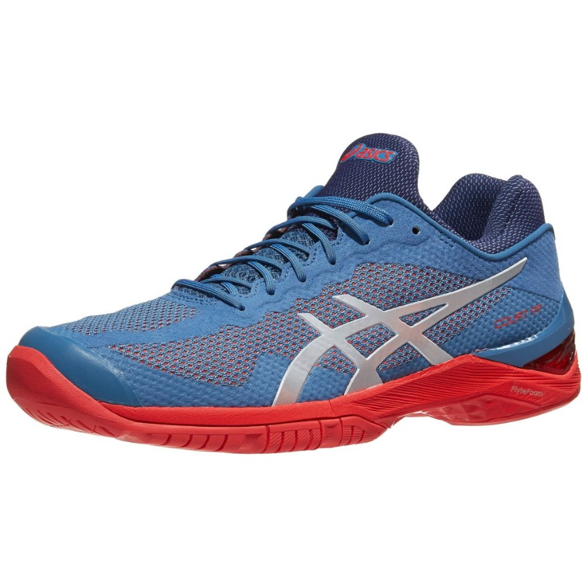 Asics Gel Court FF Blue/Red Men's Shoes