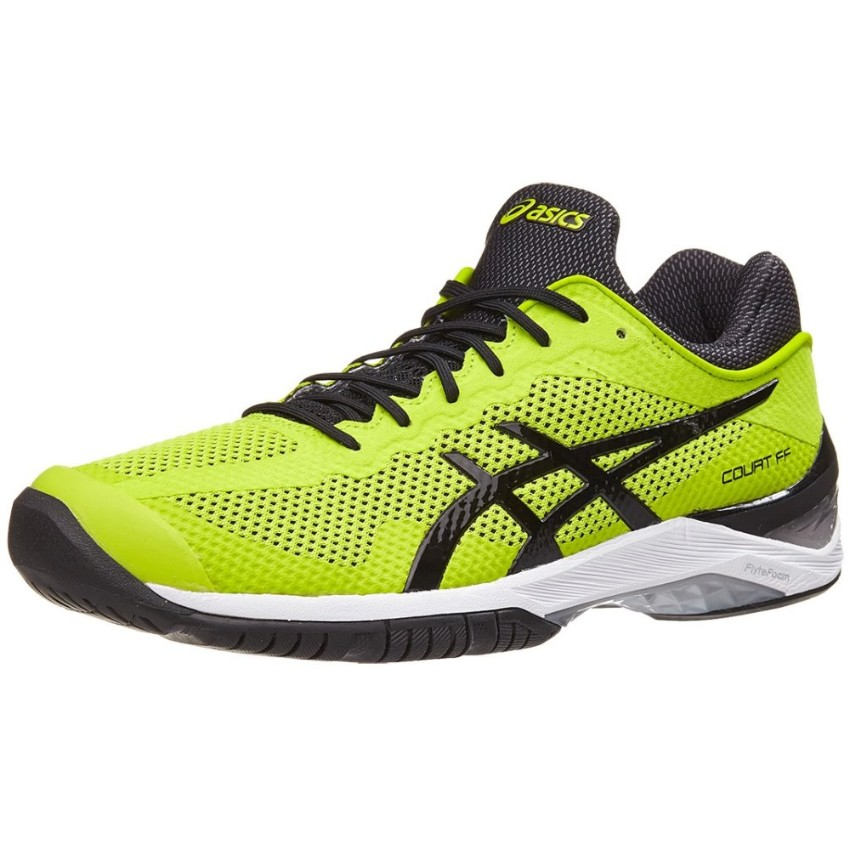 Asics Gel Court FF Yellow/Black Men's Shoes