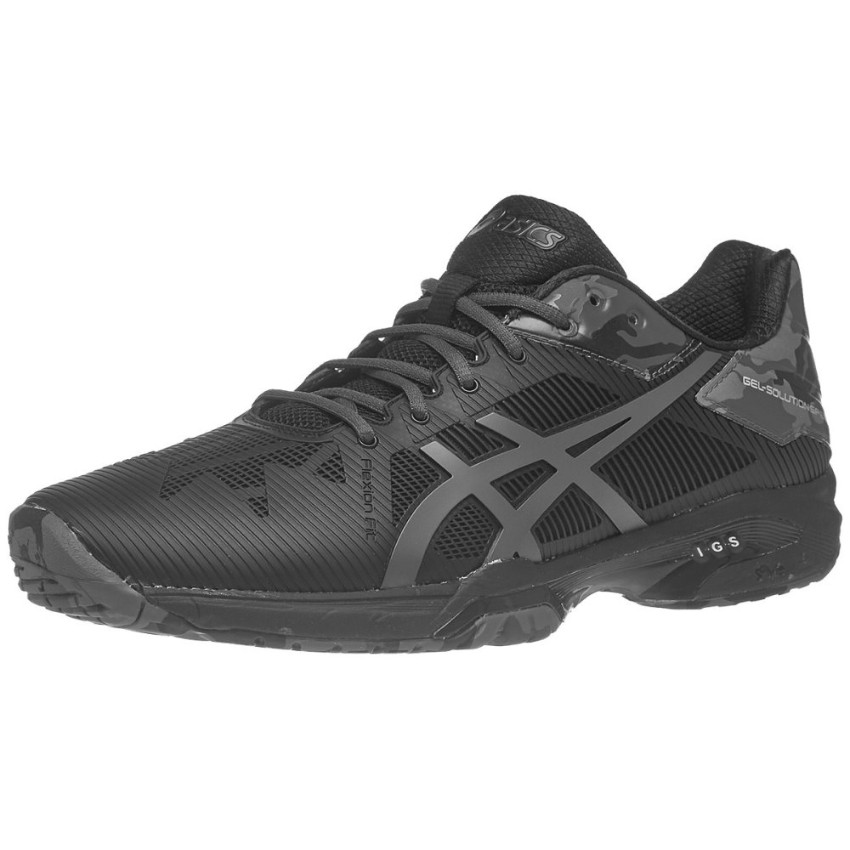 Asics Gel-Solution Speed 3 L.E. Black Men's Shoes