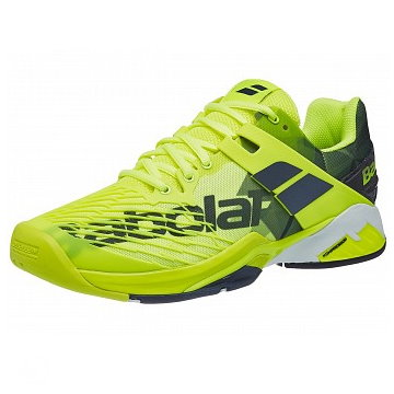 Babolat Propulse Fury Yellow/Black Men's Shoes