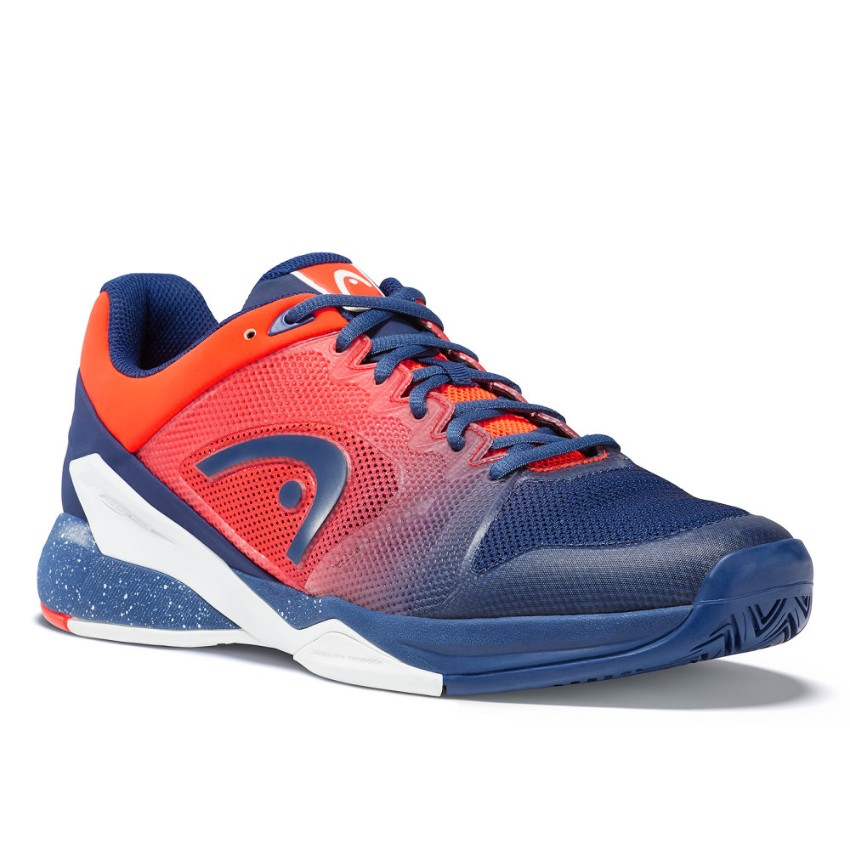 Head Revolt Pro 2.5 Blue/Orange Men's Shoes