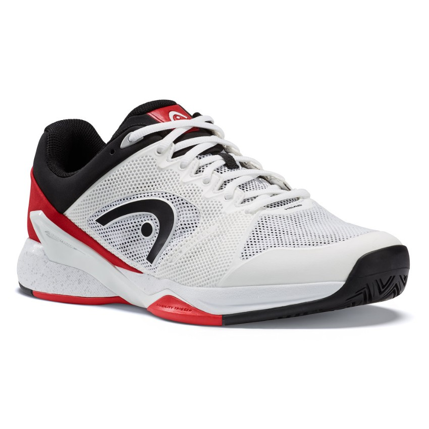 Head Revolt Pro 2.5 White/Red Men's Shoes
