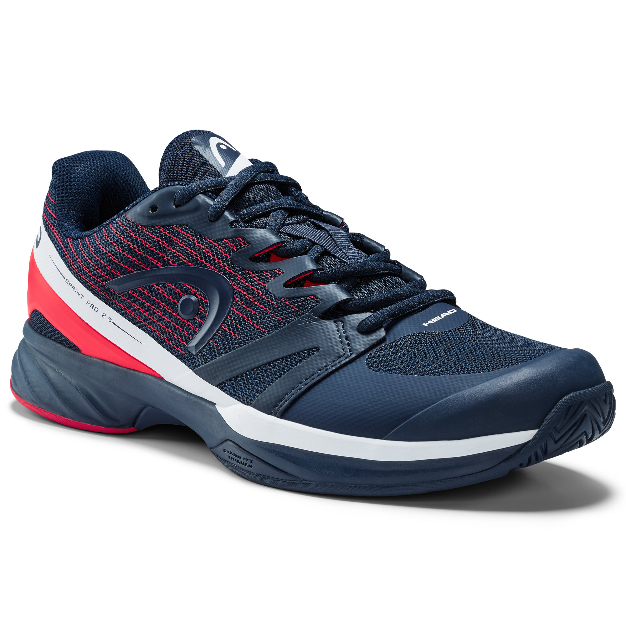 Head Sprint Pro 2.5 Dark Blue/Neon Red Men's Shoes