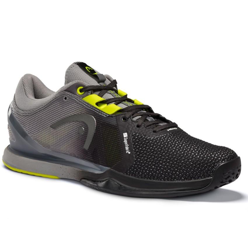 Head Sprint Pro 3.0 SF Black/Yellow Men's Shoes