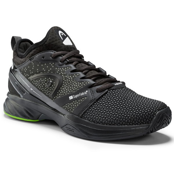 Head Sprint SF Black/Green Men's Shoes