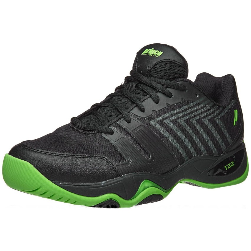 Prince T22 Lite Black/Green Men's Shoes