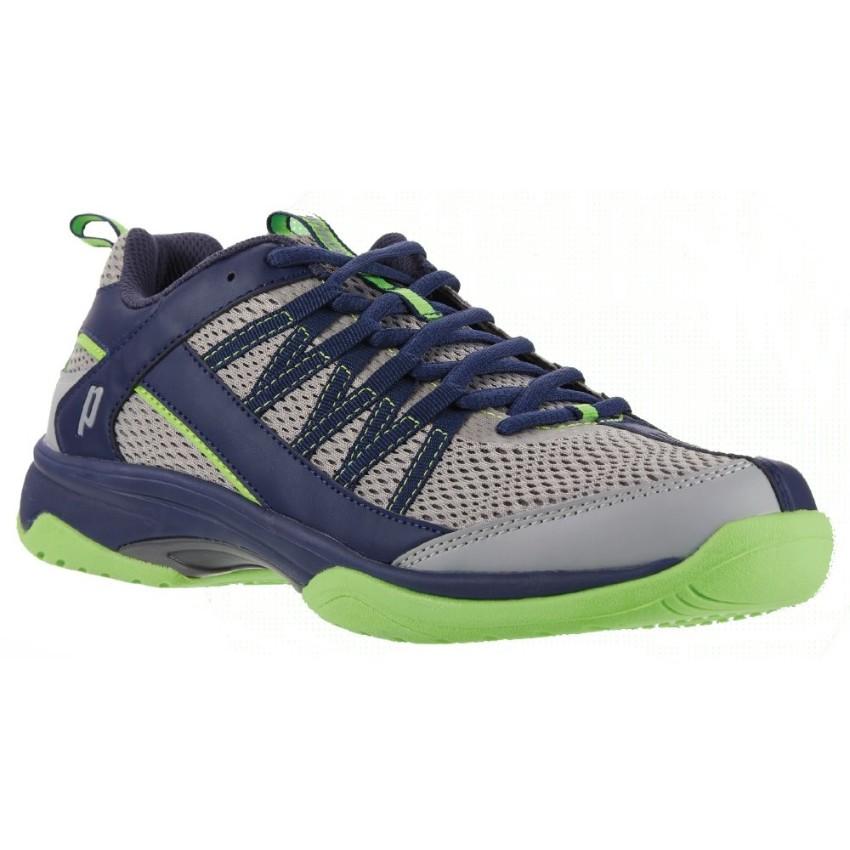 brand new f53d5 3f075 Prince Vortex Grey Navy Green Men s Shoes