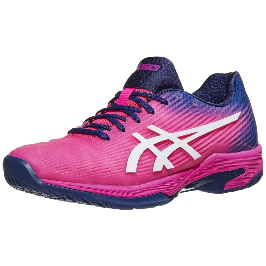Asics Solution Speed FF Pink/Navy Women's Shoes