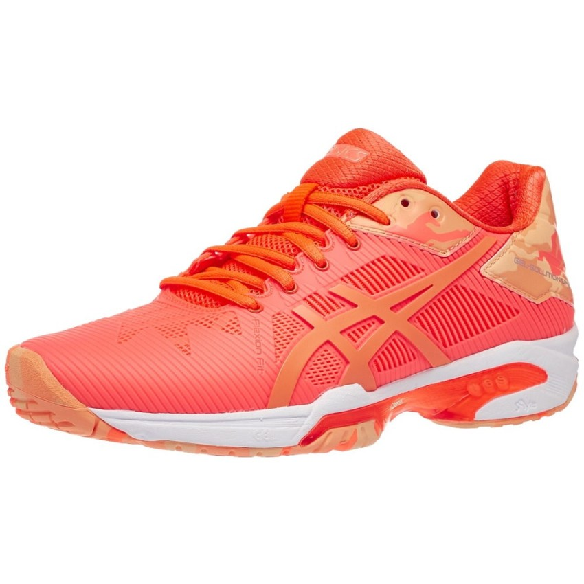 Asics Gel-Solution Speed 3 L.E. Orange Women's Shoes