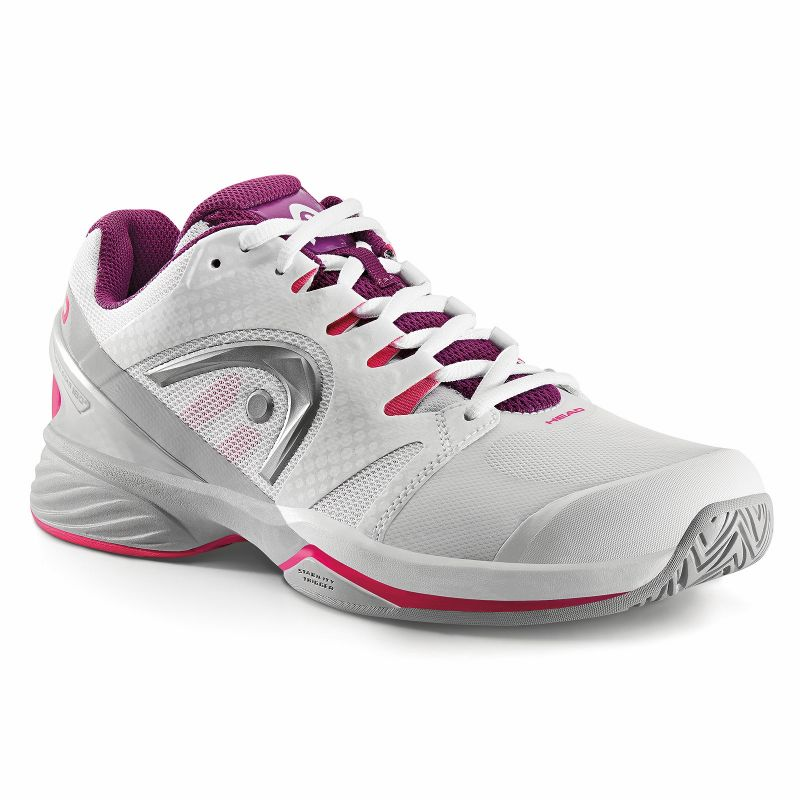 Head Nitro Pro White/Purple Women's Shoes