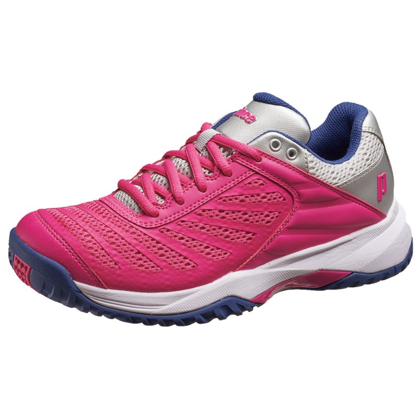 Prince DPS802L AdvancedFit Game Pink/Silver Women's Shoes
