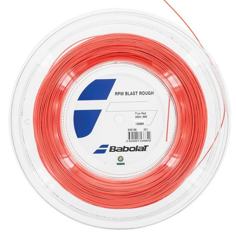 Babolat RPM Blast Rough 17 Red Reel 200m String