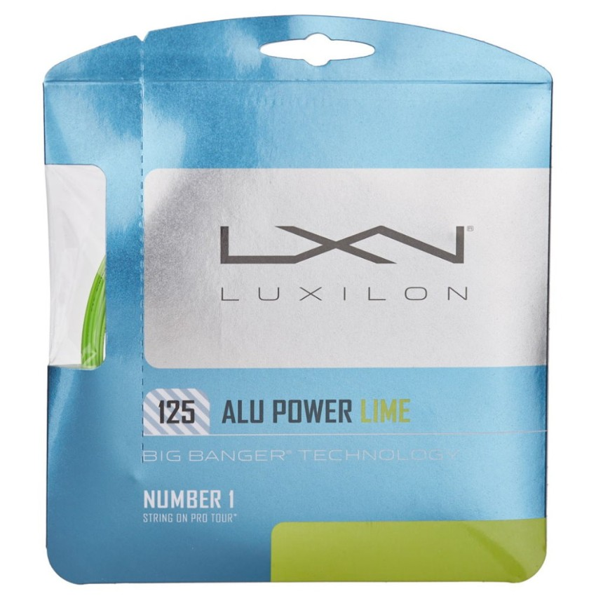Luxilon Alu Power 125 Lime String