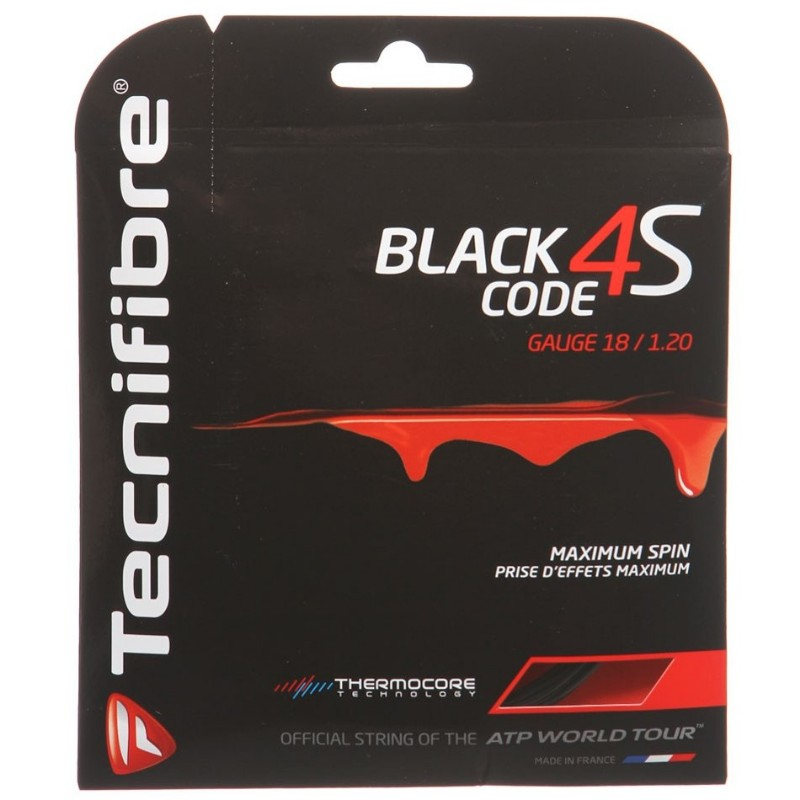 Tecnifibre Black Code 4S 18 String
