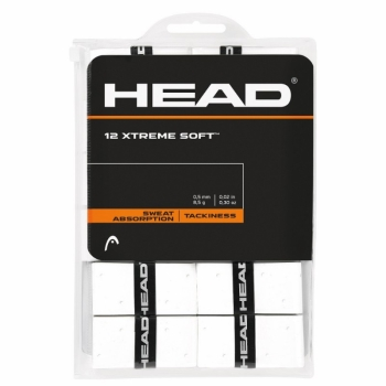 Head Xtreme Soft 12pc Pack White Overgrip