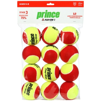 Prince Play and Stage 3 Red Ball 12-ball Pack
